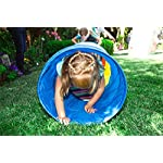 Pacific Play Tents Kids 6 Foot Find Me Crawl Tunnel, Green, Blue, & Red 13