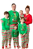 Dr. Seuss Girls Toddler Grinch Merry Grinchmas! 2 Piece Tight Fit Pajama Set (3T)