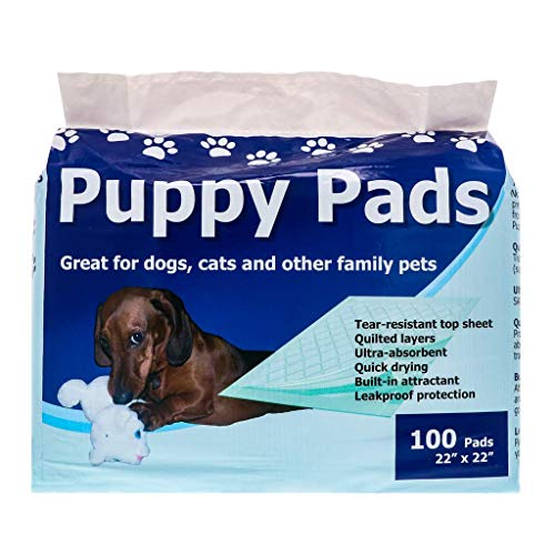 StayDry Pee Pads for Dogs - Durable, Super Absorbent, Layered Leak Proof Dog Pee Pads - Multi-Use including Puppy Crate Training - Puppy Pads 100 Count - 22