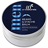 ArtNaturals Mustache and Beard Balm - (2 Oz / 60g) - Natural Hair Wax...
