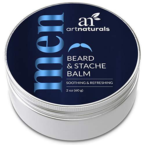 ArtNaturals Mustache and Beard Balm - (2 Oz / 60g)...