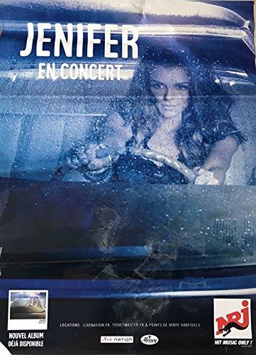 Générique Jenifer - Paradis Secret Tour 2017-70x100cm - Affiche/Poster