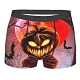Themeili Printing Comfortable Boys Pumpkin Pants