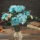 Quality Products 11 Bonne Rose Continental Rose Cœur Simulation Fleur Automne Et en Hiver Rose Accueil Décoration De Mariage 11