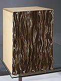 irugh Caja de Madera de Cajon de Tambor del Tatuaje Cahon Tambor Blanco y Negro de la raíz Pat tallarines Bolsa de Regalo