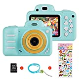 Kids Digital Camera for Girls Boys, Vannico Rechargeable HD Video Photo Camera