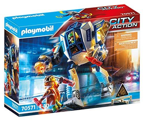 PLAYMOBIL City Action 70571 Robot Policía: operación Especial, Para niños de 4 a 10 años