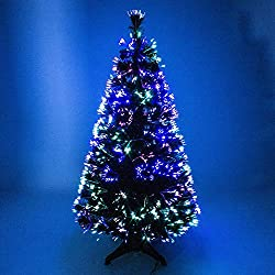 Christmas Centre Fibre Optic Xmas Tree