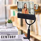 Leo Vision 12' Phone Screen Magnifier - Includes Bluetooth Speaker + Folding Stand - (New Edition - 100% Cellphone Projector - Smartphone Screen Enlarger & Amplifier for HD Movies - Portable Anti