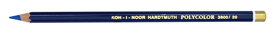 KOH I Noor Artist's Coloured Pencil - Prussian Blue (Pack of 2)