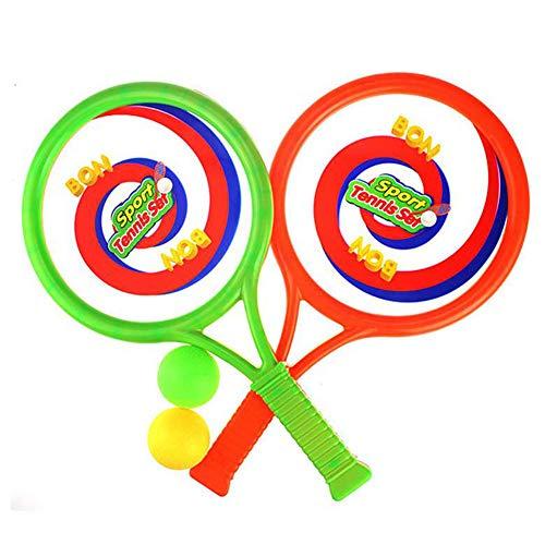 YYDM 1 Par Kid Raqueta De Tenis, Multiuso Ligera Raqueta De Tenis/Inteligencia Desarrollo De Juguete para Los Deportes Al Aire Libre para Niños/Raquetas De Arranque, para La Playa Y Jardín