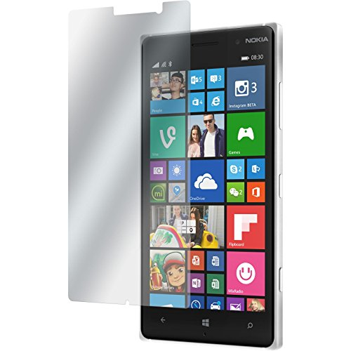 PhoneNatic 4er-Pack Bildschirmschutzfolien matt kompatibel mit Nokia Lumia 830