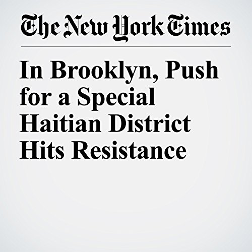 In Brooklyn, Push for a Special Haitian District Hits Resistance copertina