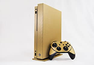 xbox one brushed gold skin