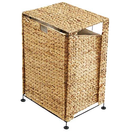 KMH®, großer Wäschekorb aus Wasserhyazinthe (#204024)