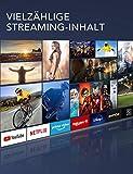 TCL 50EP640 Fernseher 126 cm (50 Zoll) Smart TV (4K UHD, HDR 10, Triple Tuner, Android TV, Micro Dimming, Prime Video, Alexa und Google Assistant) Schwarz [Modelljahr 2019] - 2