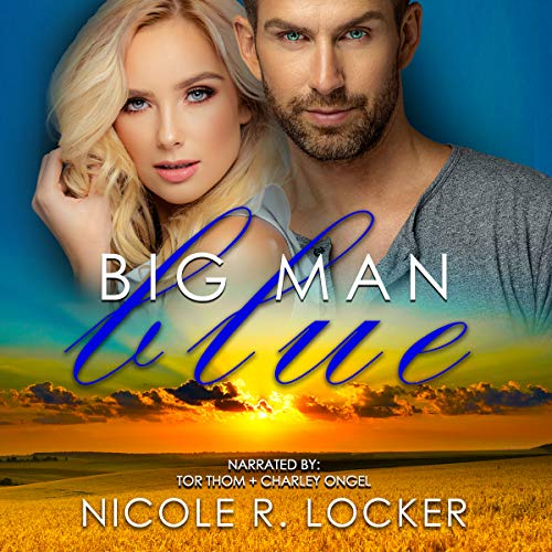 Big Man Blue audiobook cover art