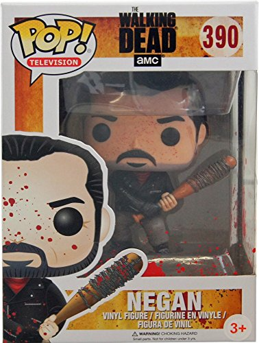 Funko 13301 - Walking Dead, Pop Vinyl Figure 390 Bloody Negan Limited Edition