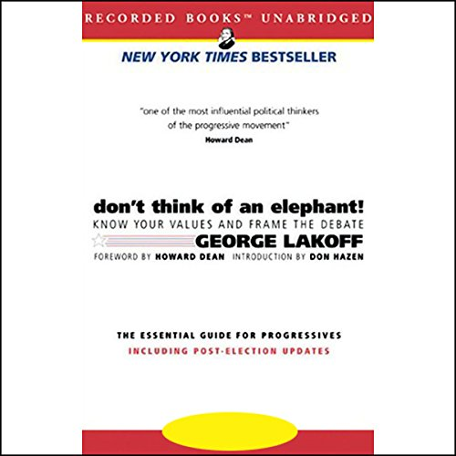 Don't Think of an Elephant! audiobook cover art