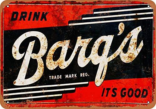Tamengi 12''x18''Metal Sign Barq's Root Beer Vintage Look