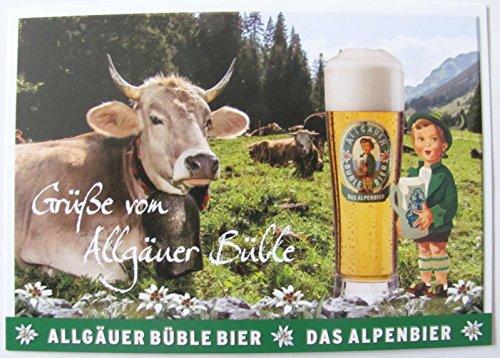 Allgäuer Brauhaus - Büble Bier - Grüße von Allgäuer Büble - Postkarte - Motiv 01