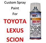 Finish-Rite Custom Spray Paint for Toyota and Lexus Cars - OEM Paints (Spray Paint, 1F7 - Classic Silver Metallic)