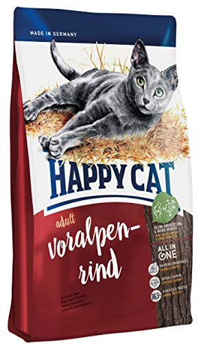 Happy Cat Adult Voralpen-Rind, 1er Pack (1 x 300 g)