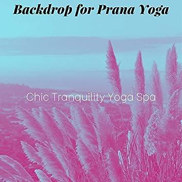 Backdrop for Prana Yoga