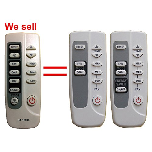 Price comparison product image HA-15236 Replacement GE Air Conditioner Remote Control Model Number ARC-715 ARC-767 DB93-00284V DB93-03027M Works for ASW12AA ASW12AAS1 ASW12AC ASW12ACS1 ASW18DA ASW18DAS1 ASW18DC ASW18DCS1 ASW18DD