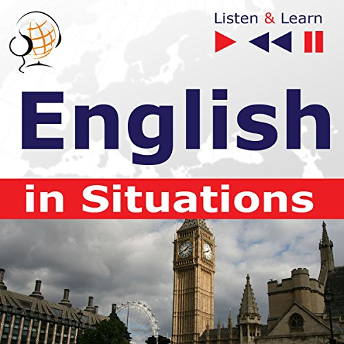English in Situations: A Month in Brighton / Holiday Travels / Business English / Grammar Tenses (Listen & Learn) audiobook cover art