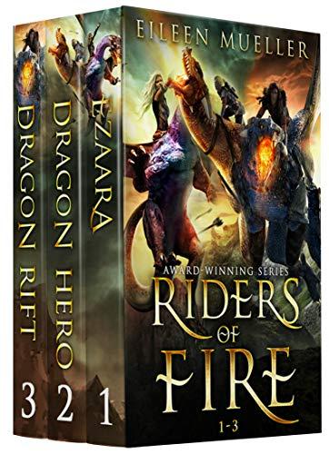 Riders Of Fire Books 1-3 by Eileen Mueller ebook deal