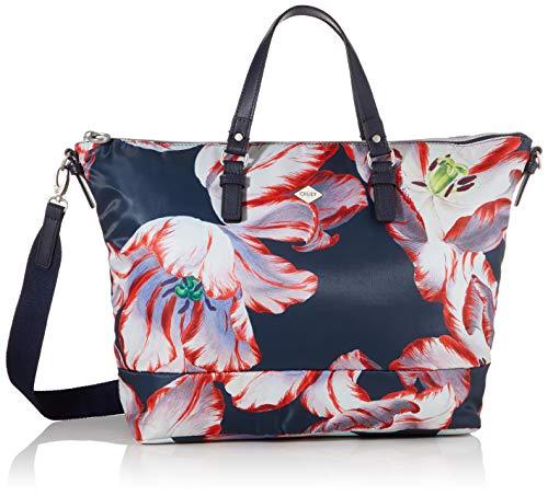 Oilily Damen Picnic Handbag Lhz Henkeltasche, Blau (darkblue), 15x30x45 cm