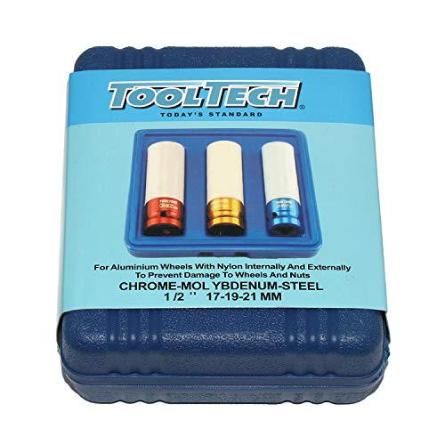 ToolTech Lot de 3 tournevis à frapper 17-19-21 mm 85 mm