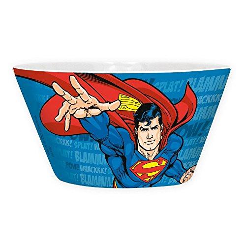 DC Comics   Ciotola per cereali in ceramica con logo Superman volante