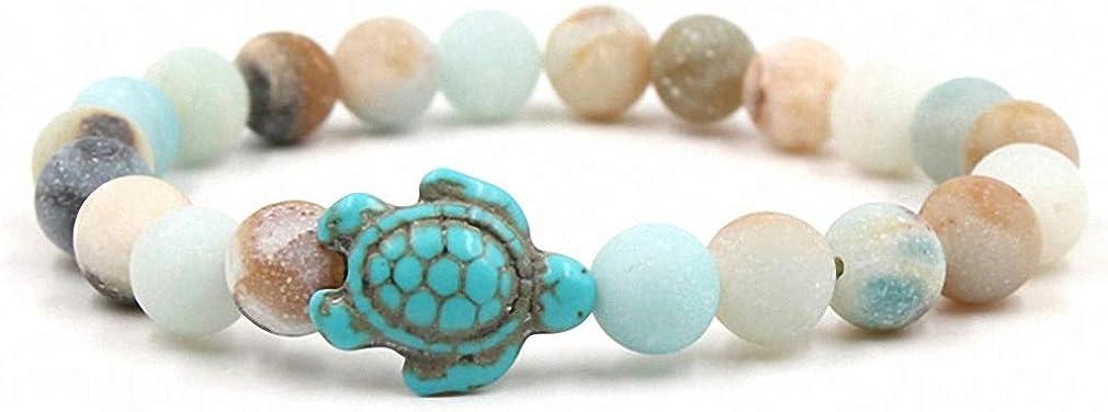 Giwotu Womens Summer Style 2021 Popular popular model Sea for Turtle Bracelets Women Beads