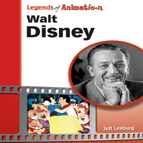 Walt Disney: The Mouse That Roared (Legends of Animation) audiobook cover art