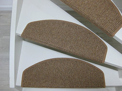 Teppichwahl - Tappeti per scalini Lombok, 65/28 cm