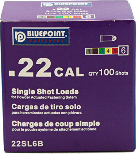 BLUEPOINT .22 Cal PURPLE Straight Wall Single Shot Powder Loads. 5 PACK (500 - Count). Item# 22SL6B. YOU SAVE $10.00