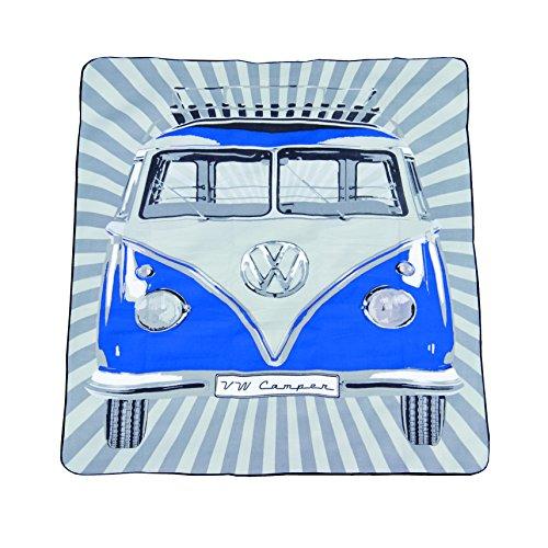 Picknickdecke Volkwagen blau