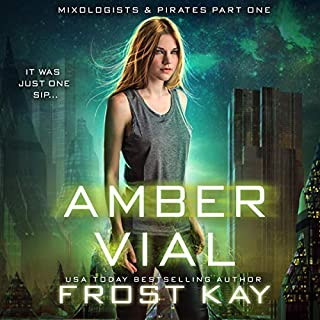 Amber Vial  audiobook cover art