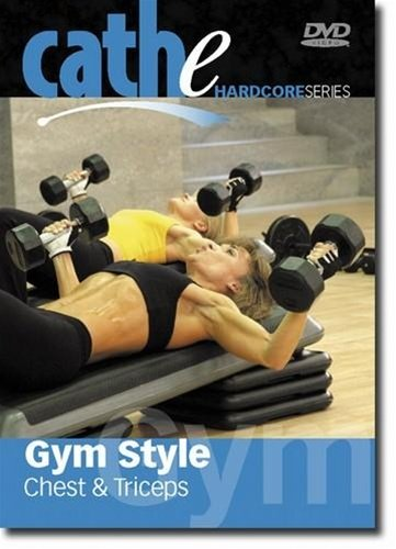 Cathe Friedrich Hardcore Series Gym Style Chest And Triceps DVD - Region 0 Worldwide