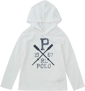 ポロ ラルフローレン キッズ 水着 ラッシュガード スイムウェア 4-7歳 カバーアップ Stretch Hooded Cover-Up Polo Ralph Lauren [並行輸入品]