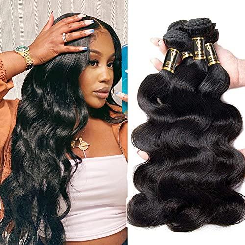 Yavida Brazilian Hair Bundles Body Wave Human Hair Bundles 10 12 14...