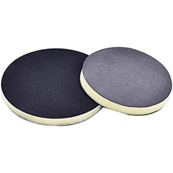 "VOSAREA 6"" Clay Pad for Polisher,DA Polisher Pad,Pneumatic Clay Bar Pad for Polisher Clay Disc Foam Pad or Car Detailing Novel Detailing Tool Detailing Kit (Black)"