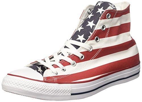 Converse Chuck Taylor All Star Hi, Zapatillas Unisex niño, Multicolor (Stars &...