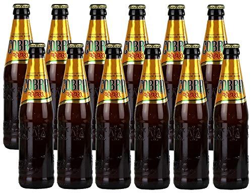 Indisches Cobra Premium Beer (12 x 330 ml) Flaschenbier