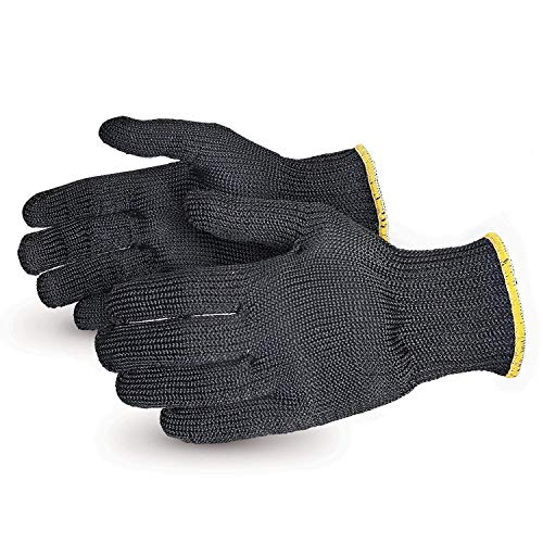 Contender Heavyweight Cut Resistant Glove with Kevlar (1 Pair of Kitchen Heat Resistant Gloves - SBKG/XL) Size X-Large