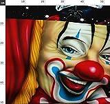 Quilt, Quilten, Clowns, Zirkus, Karneval, Clown Stoffe -