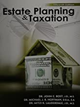 estate planning and taxation 15th edition