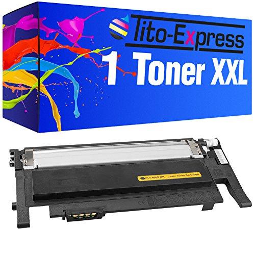 Tito-Express Platinum Series 1x Toner XXL Black voor Samsung CLT406S Xpress C410W C460FW C460W C467W CLX-3300 CLX-3305 CLX-3305FN CLP-360N CLP-360ND CLP-365 CLP-365W
